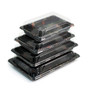 "A-03HL Momiji Leaf Take Out Sushi Tray 8.5"" x 5.3"" (50/pack)"