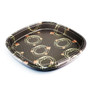 "Lids for SF-6 Rounded Square Take Out Platter 16.1"" #90443 (100 lids/case)"