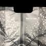 "No. 40 PE Plastic Takeout Bags Clear Flower Dots 13.4"" x 18.5"" (100 pcs/pack)"