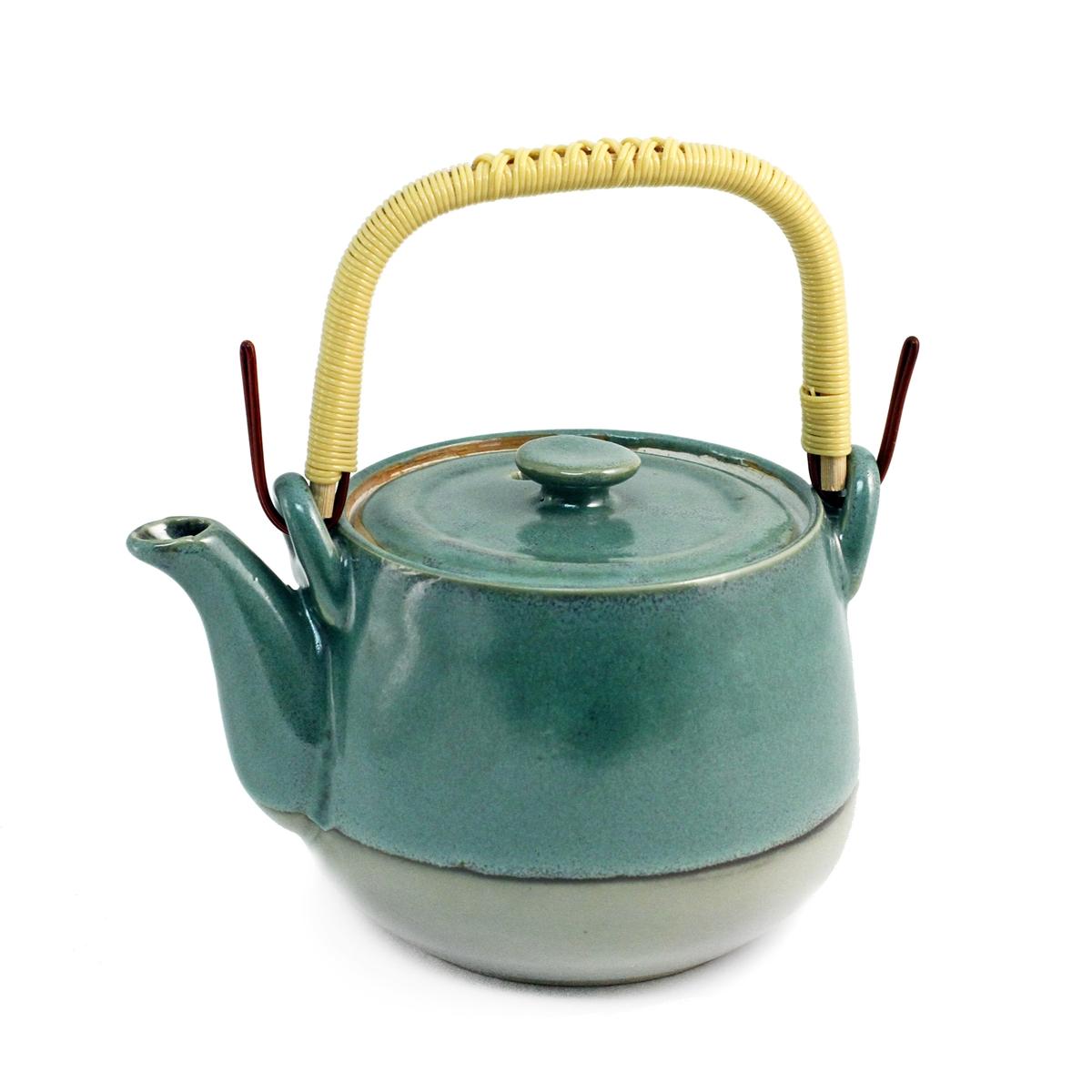 Jade Green Teapot 24 Fl Oz Mtc Kitchen