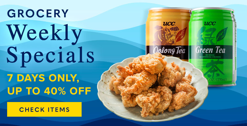Weekly specials up to 40% off select products