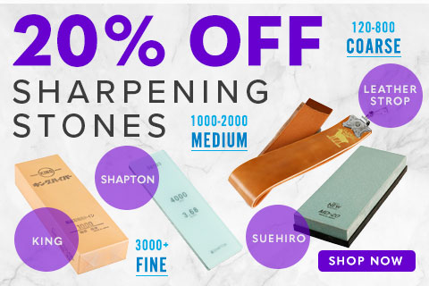 20% Off Sharpening Stones