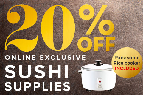 20% Off Sushi Supplies
