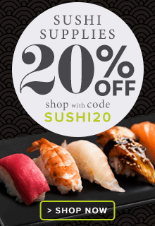 20% Off Sushi Supplies Sale