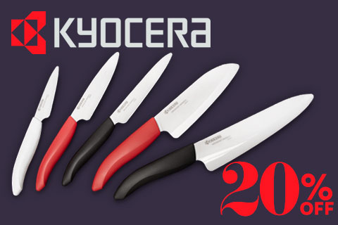 20% Off Kyocera Advanced Ceramic Sale