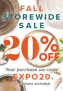 20% off storewide sale