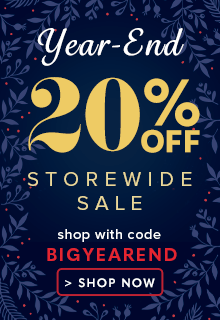 20% Off Year End Storewide Sale
