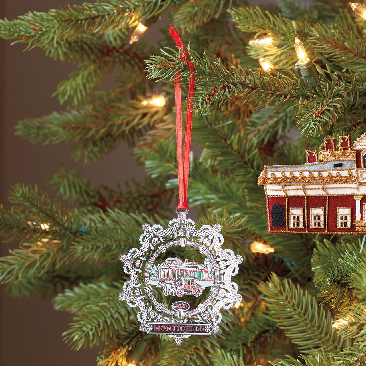 Monticello 2020 Ornament