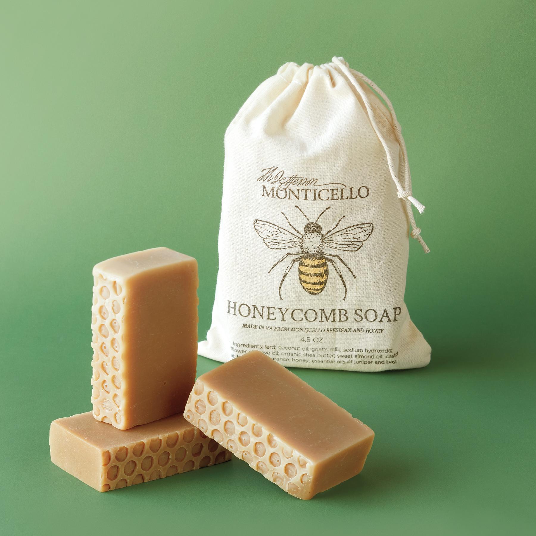 Monticello Honeycomb Soaps