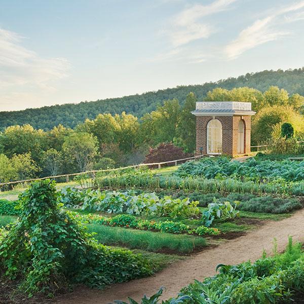 Monticello Vegetable Garden