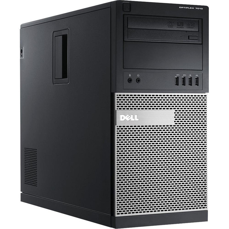 DELL OptiPlex 3020 MTW (4th Gen) Core i5 3.20GHz 8GB RAM 500GB HDD DVD-RW Window 10 Pro