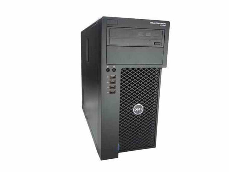 DELL Precision T1700 MTW Core i7 (4th Gen) 3.40GHz 16GB RAM 256GB SSD DVD-RW Window 10 Pro