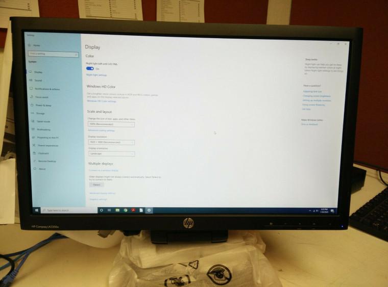 "HP Compaq LA2206x 21.5"" WLED Backlit LCD Monitor 1920 x 1080 | Free Shipping"