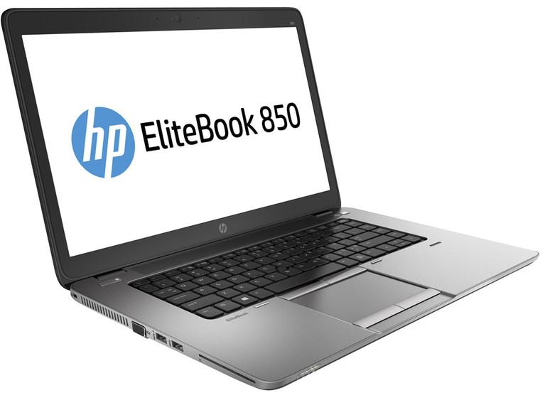 """HP EliteBook 850 G1 i7 2.10Ghz (4th Gen.) 15.6"""" Full HD+ 12GB RAM 500GB HDD Webcam Windows 10 Pro"""