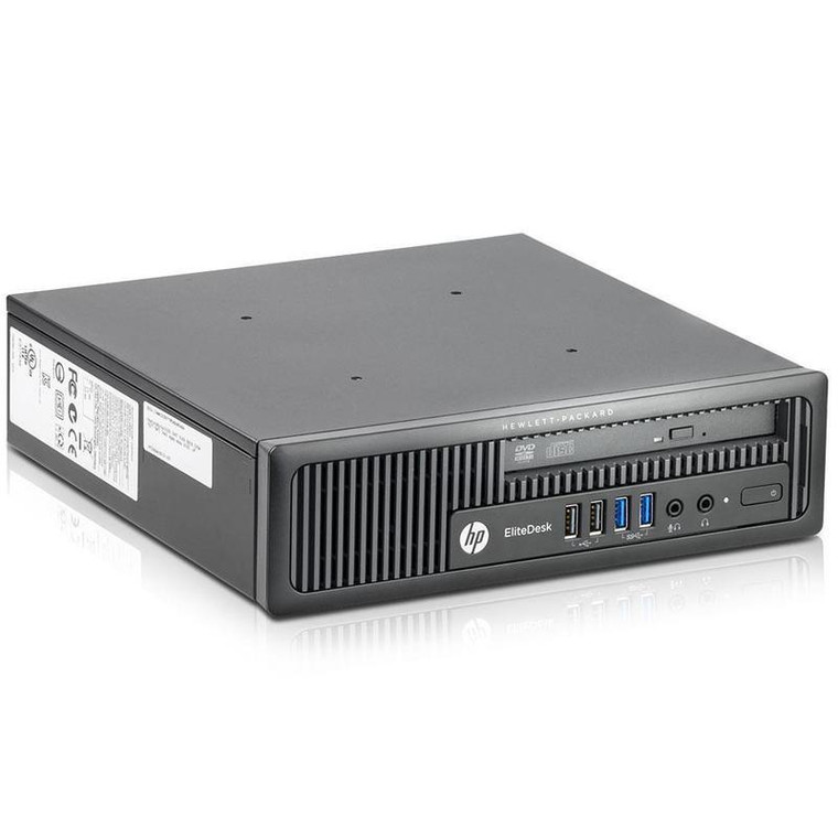 HP 800 G1 USFF Core i5 (4th Gen) 3.20GHz 4GB RAM 320GB HDD DVD-RW Windows 10 Pro