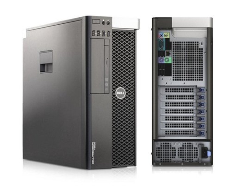 DELL Precision T3610 MTW Intel Xeon 2.80GHz 8GB RAM 500GB HDD DVD-RW Nvidia NVS 310 Window 10 Pro