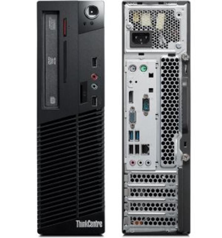 Lenovo ThinkCentre M78 SFF AMD A4 3.70GHz 4GB RAM 500GB HDD DVD-RW Windows 10 Pro