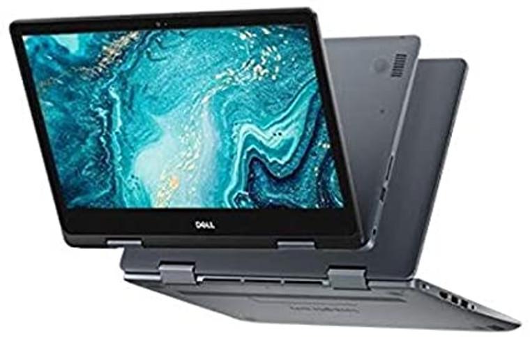 "DELL Laptop Inspiron 5481 i3 2.10Ghz (8th Gen.) 14"" 2-in1 Touchscreen 4GB RAM 128GB SSD Webcam Windows 10 Home ~ Grade B"