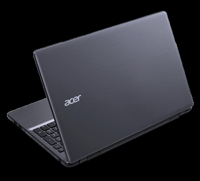 """Acer Notebook Aspire E5-571 Intel Core i3 1.7Ghz 15.6"""" 4GB RAM 500GB HDD DVD-RW Webcam Windows 10 Home"""