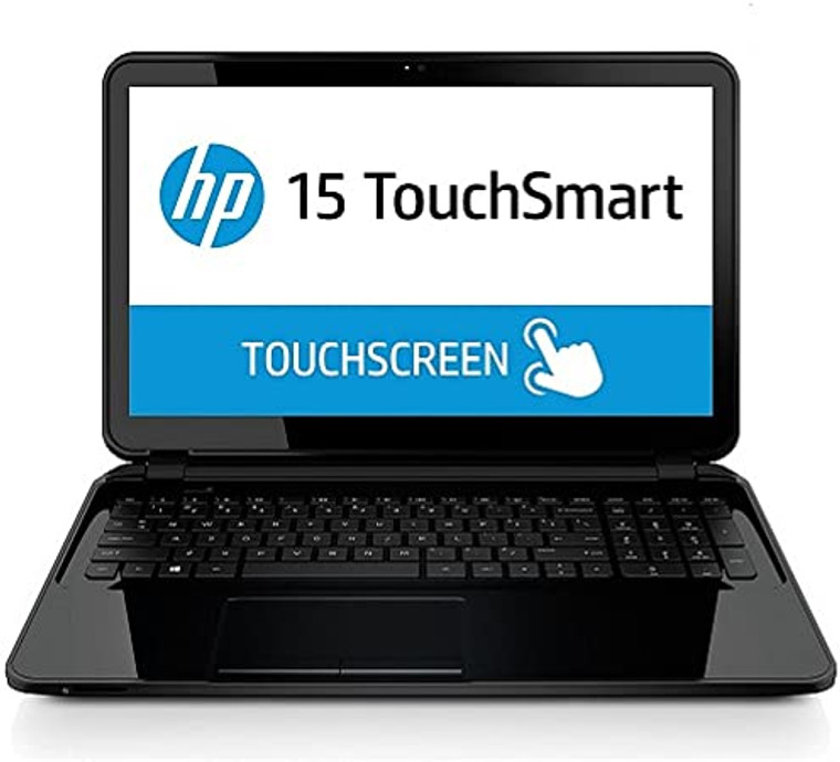 "HP 15-TS Notebook AMD A8-6410 @ 2.00Ghz 15.6"" Touchscreen 8GB RAM 750GB HDD DVD-RW Webcam Windows 10 Home"