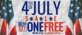 The 4th of July Special Promotion!