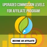 Upgraded Commission levels for affiliate program!
