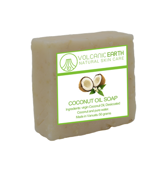 Natural handmade Coconut Oil soap - 1 bar