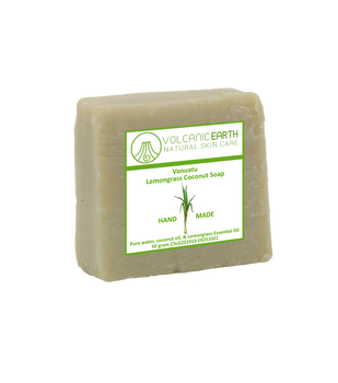 Natural handmade Lemongrass Coconut soap - 1 bar