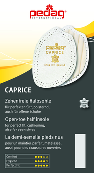 Pedag Caprice helps improve fit for shoes anti-slip toe pad