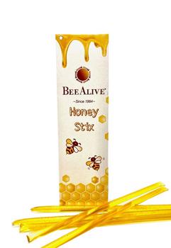 BeeAlive Honey Stix with mild sweet floral taste - 12 & 24 pack
