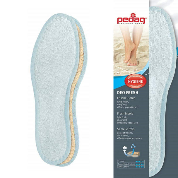 Pedag DEO FRESH with Natural Cotton Terry and Sisal Fibers