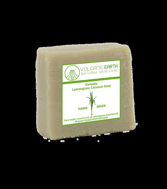 Natural handmade Lemongrass Coconut soap - 1 bar