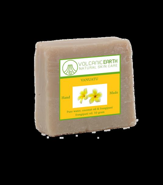 Natural handmade Frangipani coconut oil soap - 1 bar