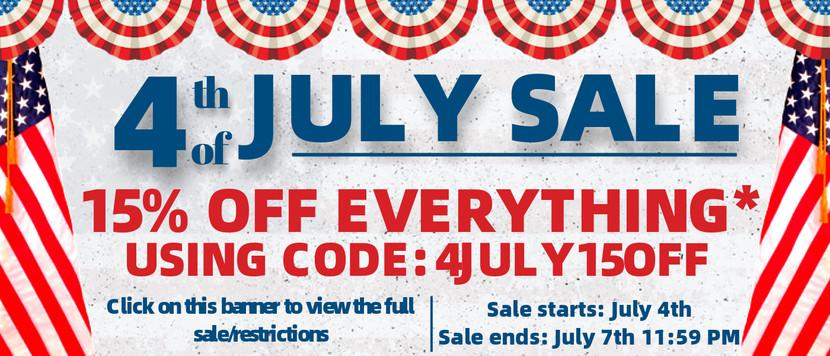 4th of July Sale | Vita Stream Blog