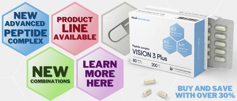 New Peptide Complexes Are Here!   Vita Stream Blog