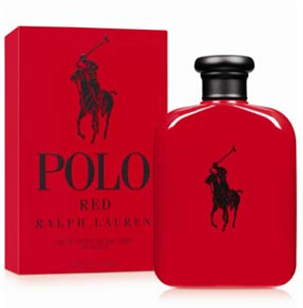 POLO Red For Men By RALPH LAUREN 4.2 oz Edt Spray