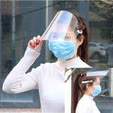 Protective Full Face Safety Isolation Visor Eye Face Protector Shield