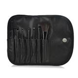 7 pc Makeup Brush Set In Purple Case