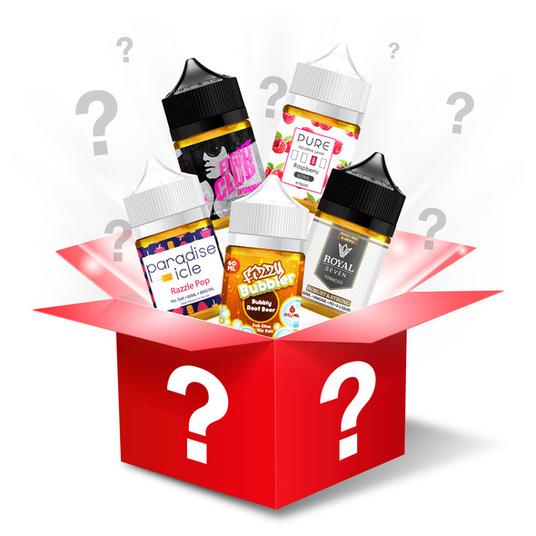 Mystery 12-Pack 60ml E-liquid Bundle