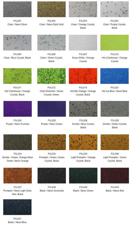 Fine Glitter Rubber Skirt Material