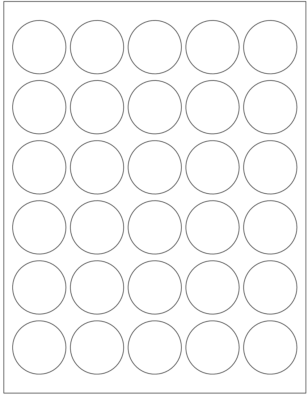 Template - 1 5 Inch Round Labels - InkScissorsPaper