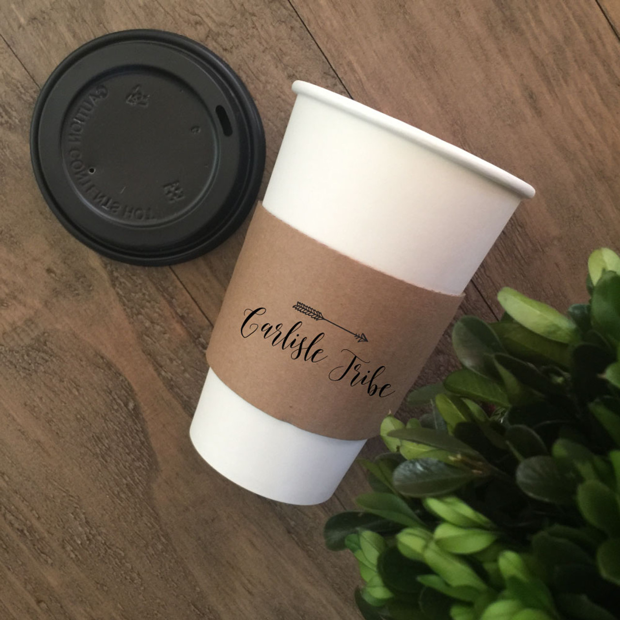 3eb582853 Personalized Printed Coffee Sleeves