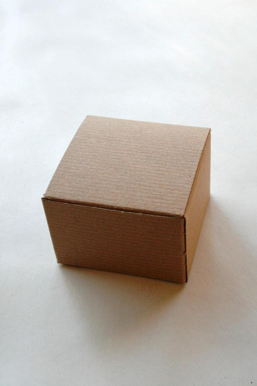 & Brown Kraft Gift Boxes DIY - Packaging - 5 x 5 x 3.5 Inches