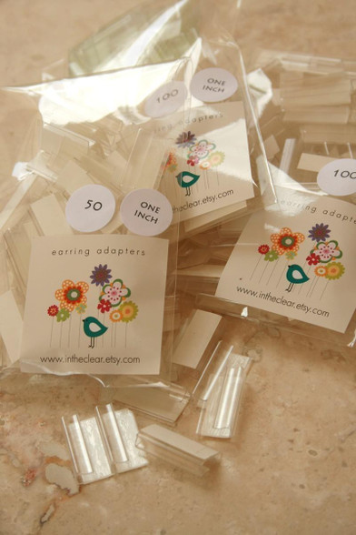 Adhesive Adapters for Jewelry Cards\u2022Card Holders\u2022Earring Card Adapters