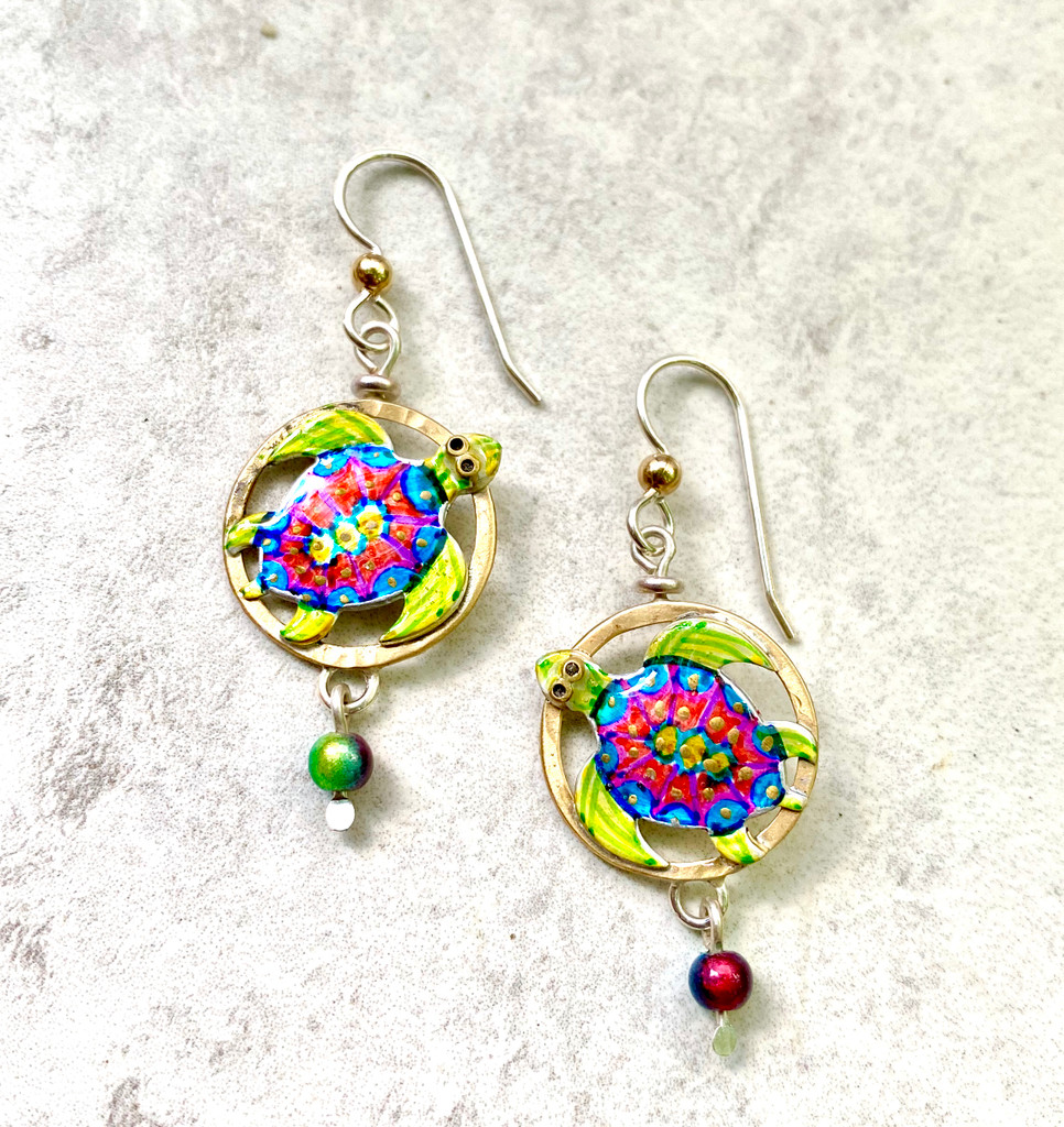 Sea Turtle Earrings