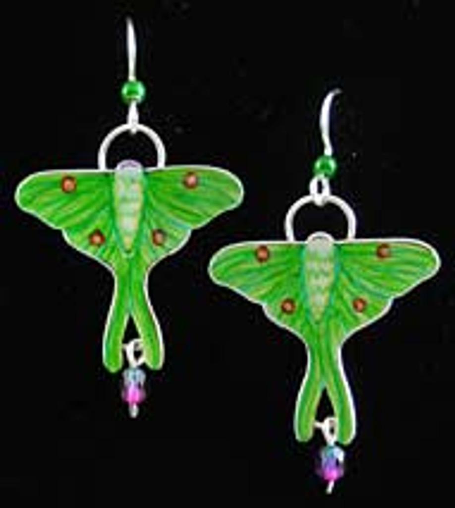 Luna Moth Earrings
