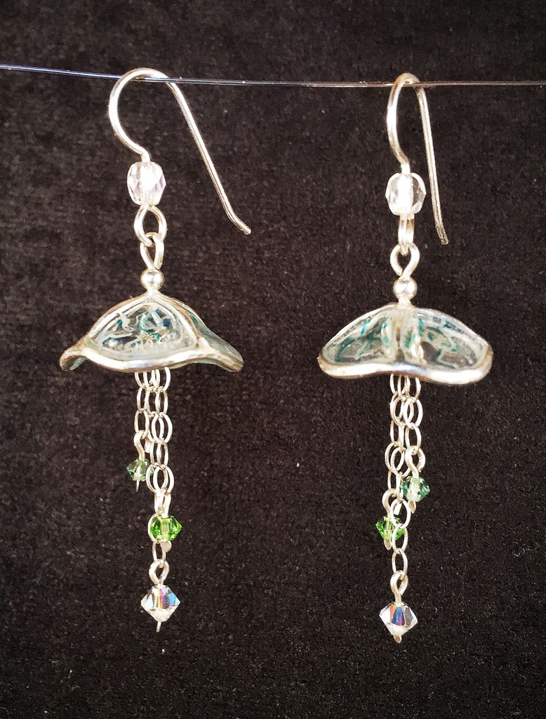 Shattering the Glass Ceiling Earrings