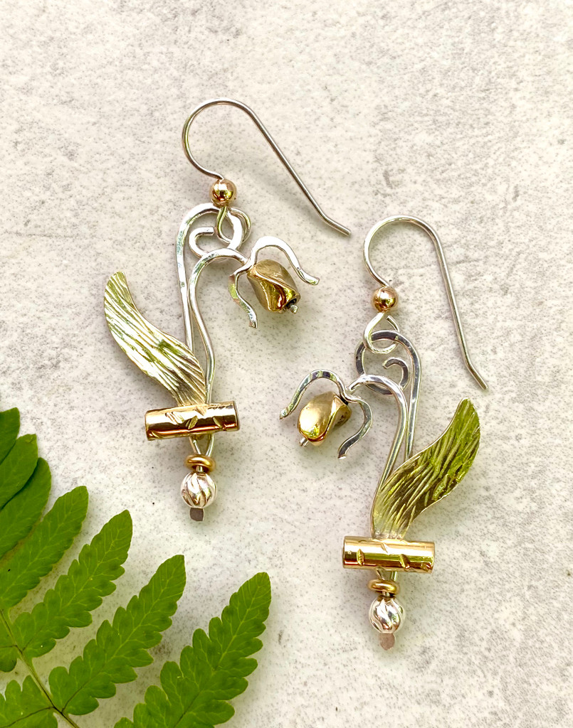 Lady's Slipper Earrings