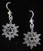Medium Snowflake Earrings