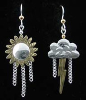 New England Weather Earrings